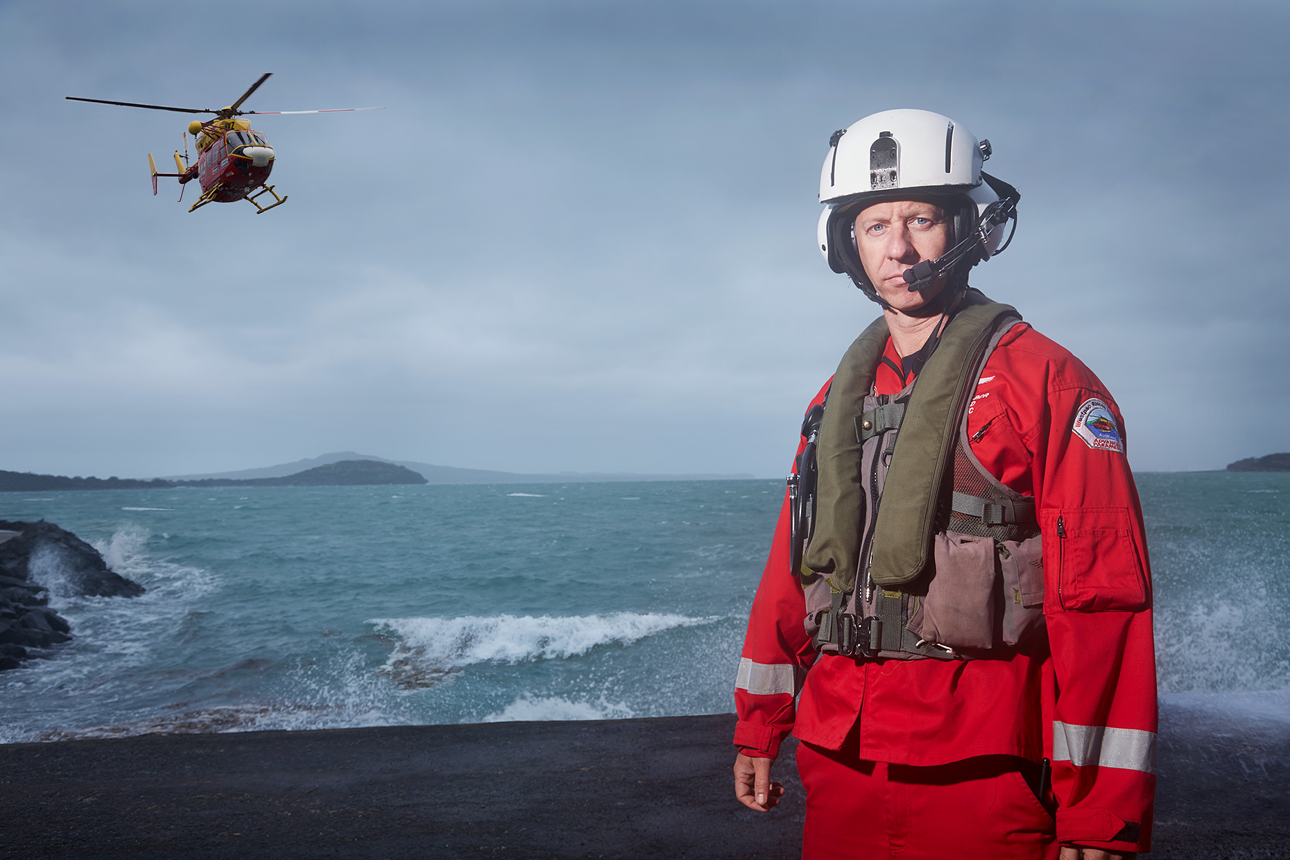 Stefan Gabor, Westpac Rescue Helicopter medic